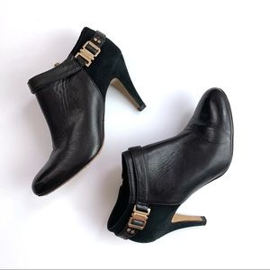 Vince Camuto Leather & Suede Vanny Bootie
